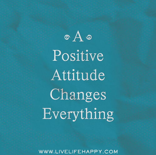 Facebook Positive Attitude Quotes: Motivation Monday: Turning To Positivity