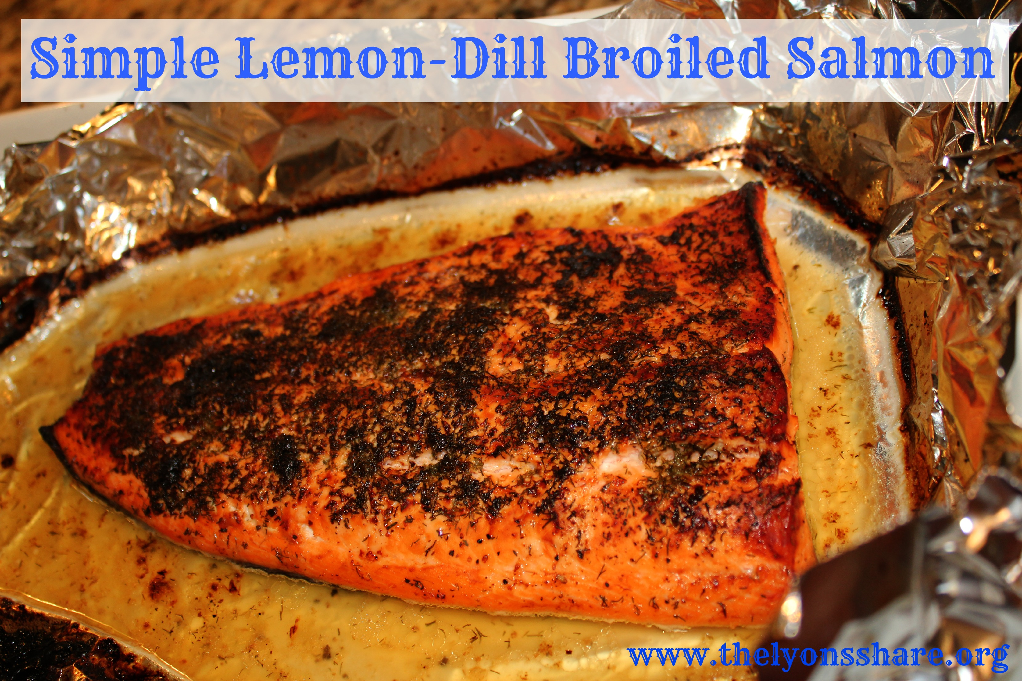The lemony dill flavor really makes this salmon pop! It's easy to ...