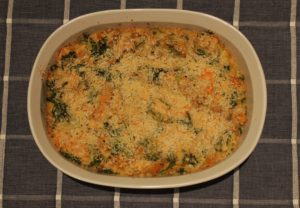 finished fall chicken and kabocha casserole