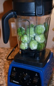 brussels sprouts in vitamix