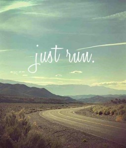 just run - blog 10.13.13