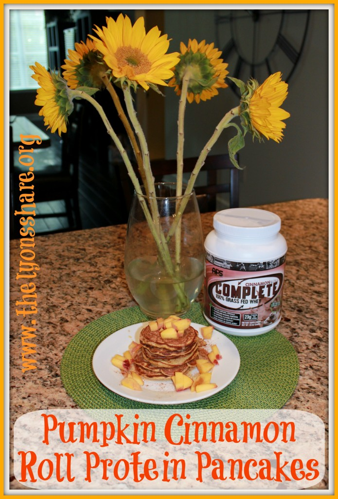 Pumpkin Cinnamon Roll Pancakes Recipe — Dishmaps