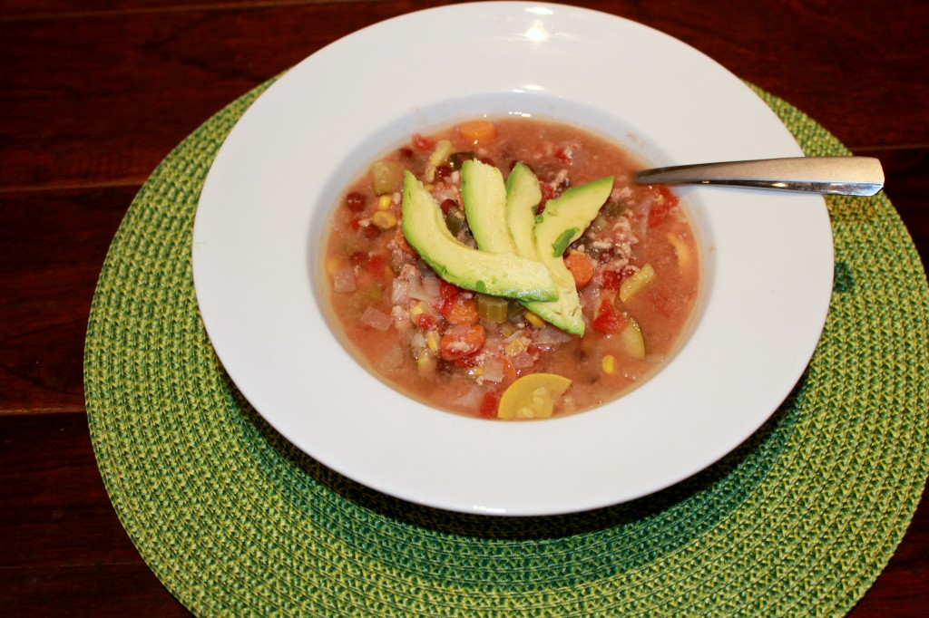Quick and Healthy Turkey Vegetable Chili 2