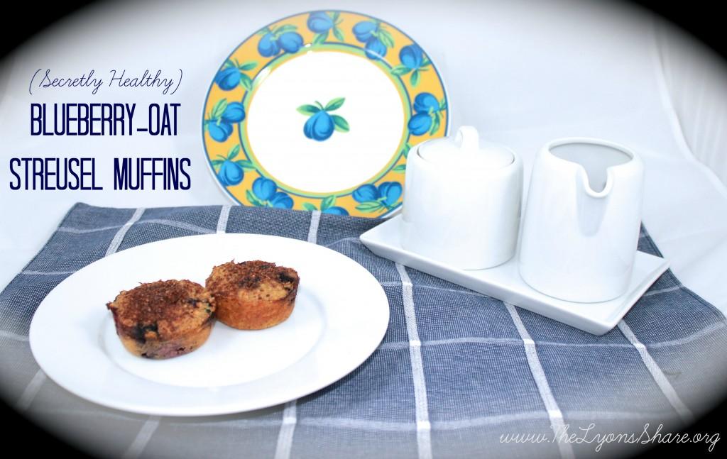 Secretly Healthy Blueberry-Oat Streusel Muffins3