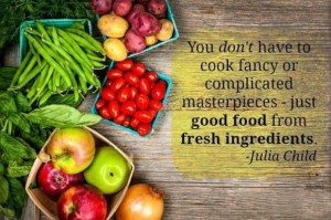 you don't have to cook complicated meals - blog 4.28.14