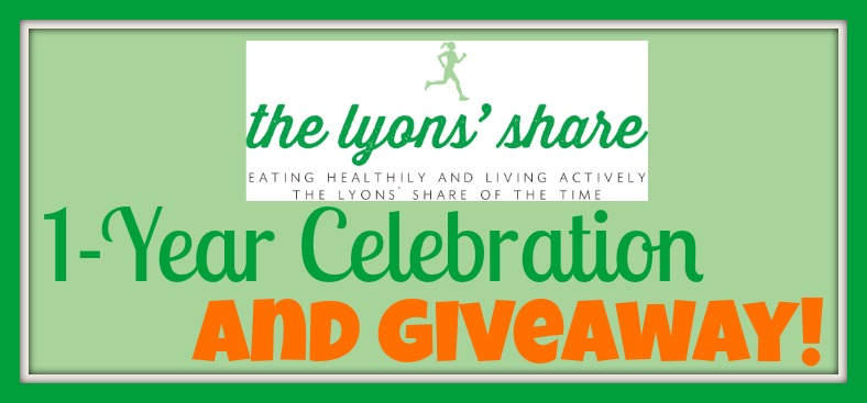 the lyons share 1 year celebration and giveaway