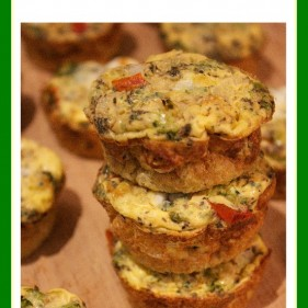 Foodie Friday in a Flash #4: Grab-and-Go Egg Muffins