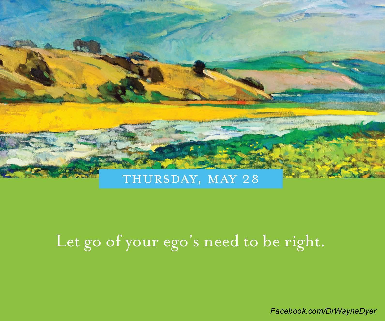 Dr. Wayne Dyer Ego Quotes