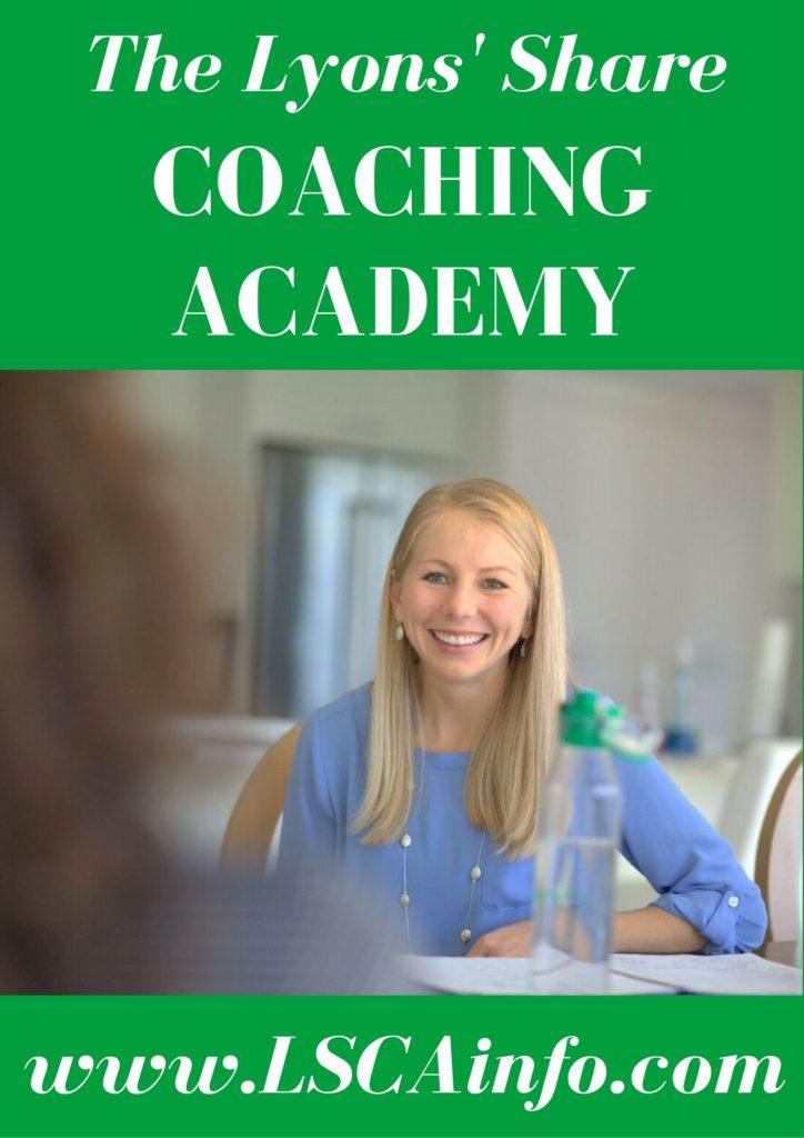 Lyons' Share Coaching Academy