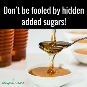 Don't Be Tricked by Hidden Added Sugar!