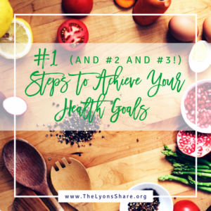 steps to achieve your health goals