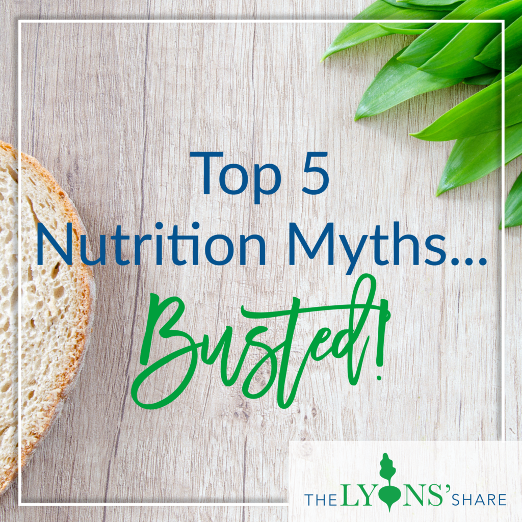 top nutrition myths