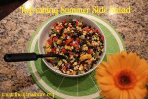 Refreshing Summer Side Salad thelyonsshare