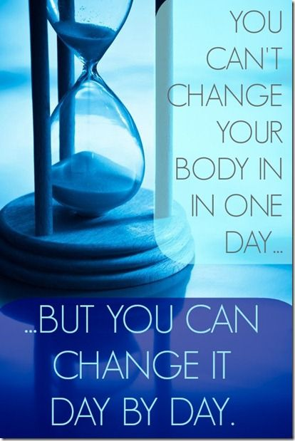 Focusing on One Healthy Thing Each Day