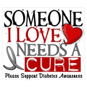 need a cure diabetes