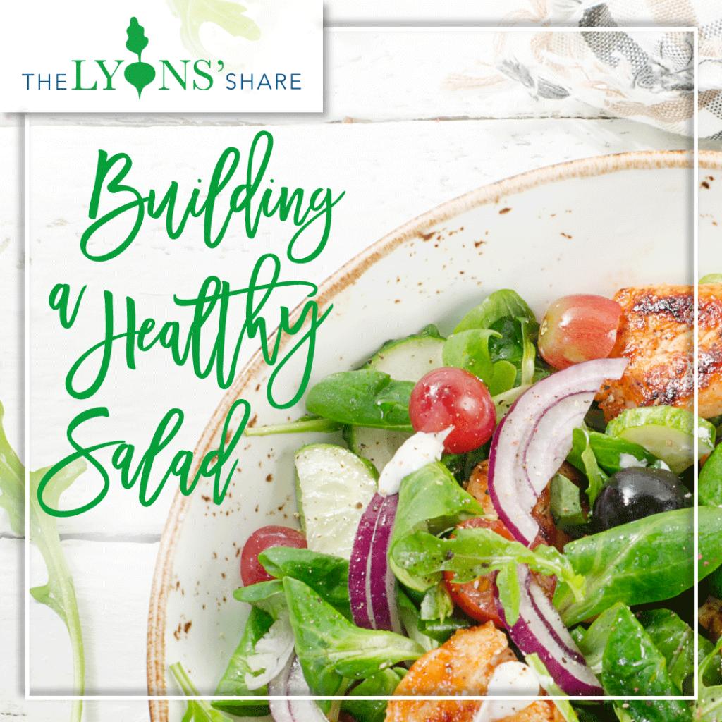building a healthy salad